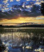 Cloudy sunrize — Stock Photo