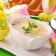White borscht for easter — Stockfoto #2741974