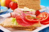 Diet breakfast — Stock Photo