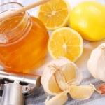 Honey,garlic and lemon — Stock Photo #2754265