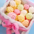 Colorful meringues - Stock Photo