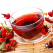 Stock Photo: Cup of rosehip tea