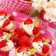 Strawberry mini tartlets — Stock Photo #2787872