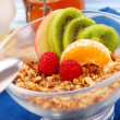 Muesli with fruits as diet breakfast — Stock Photo #2788374