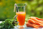 Carrot juice — Stock Photo