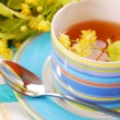 Linden tea — Stock Photo