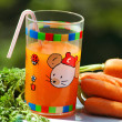 Royalty-Free Stock Photo: Carrot juice for child
