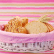 Royalty-Free Stock Photo: Bakery assortment in basket