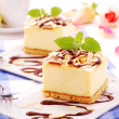Cheese cake - Stock Photo