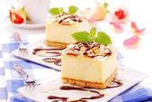 κέικ τυριού — Φωτογραφία Αρχείου
