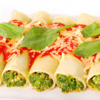 Cannelloni with spinach — Stock Photo #3002290