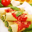 Cannelloni with spinach — Stock Photo #3002302