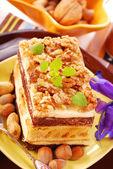 Nuts cake — Stock Photo