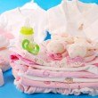 Layette for baby girl — Stock Photo #3043001