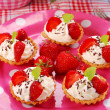 Strawberry mini tartlets — Stock Photo #3063465