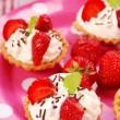 Strawberry mini tartlets — Stock Photo #3063472
