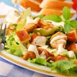 Bowl of caesar salad — Stock Photo #3340011