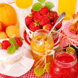 Fruits preserves — Stock Photo #3385559