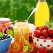 Stock Photo: Fruits preserves
