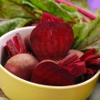 Stock Photo: Fresh beets with leaves