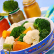 Steamed vegetables for baby — Stock Photo #3487544