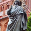 Nicolaus Copernicus monument in Torun - Stock Photo