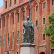 Nicolaus Copernicus monument in Torun — Stock Photo