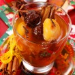 Stock Photo: Christmas compote of dried fruits