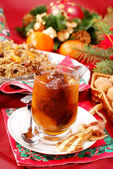 Christmas eve`s sweets — Stock Photo