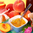 Peach preserves — Stock Photo #3767335