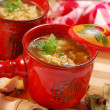 Polish tripe soup (flaki) — Stock Photo