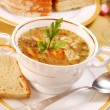 Traditional tripe soup (flaki) — Stock Photo