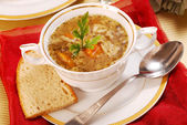 Traditional tripe soup (flaki) — Stock fotografie