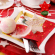 Stock Photo: Christmas table