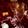 Stock Photo: Champagne for New Year