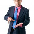 Businessman looking seriously — Stock Photo #2802024