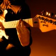 Playing guitar — Stock Photo #2802743