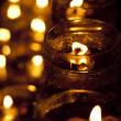 Wesak Day Celebration candle — Stock Photo
