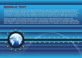Illustrazione di layout pagina World wide web in vettoriale — Vettoriale Stock