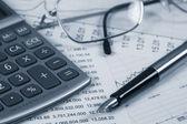 Accounting.dual トーン — ストック写真