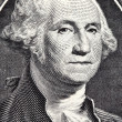 George Washington from US one dollar bil - Stock Photo