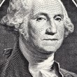 George Washington from US one dollar bil — Stock Photo