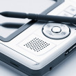 Stock Photo: Pocket pc,dual tone