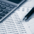 Stock Photo: Accounting.dual tone
