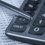 Accounting.dual tone — Stock Photo