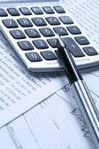 Accounting.dual toon — Stockfoto