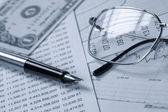 Accounting.dual tón — Stock fotografie