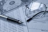 Accounting.dual ton — Zdjęcie stockowe