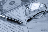 Accounting.dual tone — Stockfoto