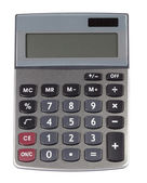 Silver calculator — Stock Photo